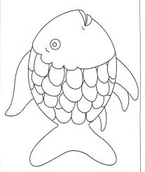 Rainbow Dash Printable Coloring Pages Magic My Little Pony Fish
