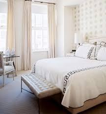 Modern Chic Master Bedroom Interior Design Sara Gilbane Manhattan NYC