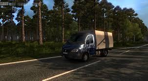 100 V10 Truck GAZEL3302 FOR EASTERN EXPRESS 7 TRUCK MOD ETS2 Mod