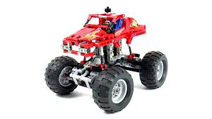 100 Lego Technic Monster Truck 42005 Speed Build And Review IMG