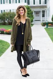 Uncategorizedinter Date Night Outfits All Black Outfit Dressing Up On Olive Green Sweater Leather Leggings Tunic Golid Necklace 1080x1620