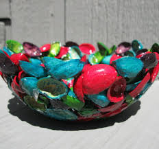 Pistachio Shell And Resin Bowl Recycling Craft Video By CraftKlatch