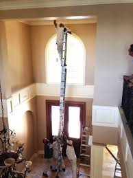 light bulb change light bulb high ceiling directly above