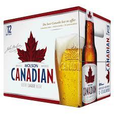 Molson Canadian 12 oz 12 pk