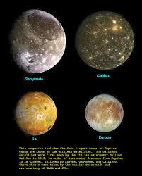 Jupiters 4 Largest Moons