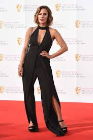 Caroline Flack suffers an embarrassing wardrobe malfunction at the