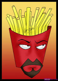 how to draw frylock from aqua teen hunger force