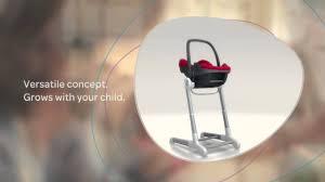 Inglesina Zuma High Chair Video by Bébé Confort Keyo Concept Youtube