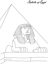 Sweet Design Ancient Egypt Coloring Pages