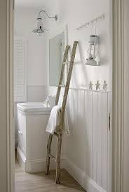 Cottage Bathroom with Beadboard Trim Cottage Bathroom
