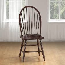 Carolina Cottage Espresso Wood Windsor Dining Chair 969ESP ...