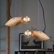 holz licht für esszimmer schlafzimmer fisch schwimmen hause le leuchte design beleuchtung licht dekoration kreativität