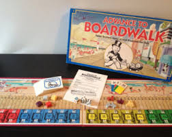 Advance To Boardwalk By Parker Brothers 1985