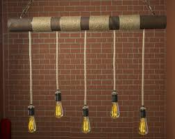 ceiling light wood fixture reclaimed wood light rustic