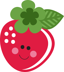 Strawberry clipart clipartandscrap