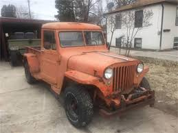 100 Old Jeep Trucks For Sale 1948 Pickup For ClassicCarscom CC1123706