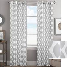 Walmart Curtains And Window Treatments by Better Homes And Gardens Ikat Diamonds Curtain Panel With Grommets