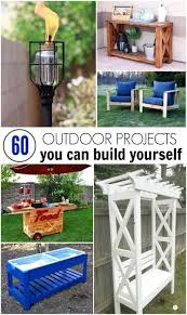 60 Outdoor Project You Can Build Yourself Backyard ProjectsPallet ProjectsDiy