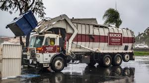 Peterbilt 320 - Maxon Legal One Front Load Garbage Truck - YouTube