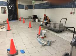commercial tile installation