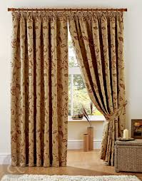 Ebay Curtains Laura Ashley by Just Contempo Heavy Jacquard Pencil Pleat Lined Curtains Red