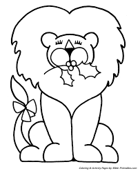 Easy Pre K Christmas Coloring Pages 11