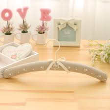 Wedding Hanger Personalized Rustic Dress Cloth Wood Bridal Shower Gift Rack For Clothes In Party Favors From Home Garden On