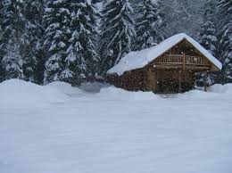 Snell Cabin Glacier Park Polebridge 2mifrom Nw