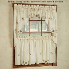 French Country Style Kitchen Curtains by Kitchen French Country Curtains E2 80 94 All Home Designsall Easy