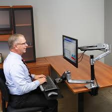 Ergotron Workfit D Sit Stand Desk by Standing Desk Mount Workfit Lx Adjustable Mount System Ergotron