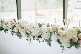 Floral Garland For Wedding Head Table