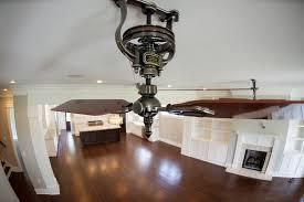 belt driven ceiling fans option john robinson house decor keep