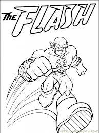 The Flash Coloring Page Superhrdinov Pinterest Ojays Inside