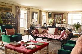 Red Living Room Ideas Uk by Antique Sofa Red Ottoman Country Living Room Ideas