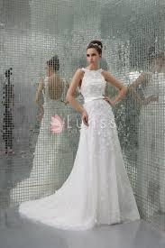 white petals adorned halter sleeveless open back luxury evening