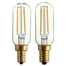 e14 e12 t25 2w warm white cob led tubular retro edison