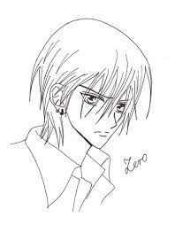 Vampire Knight Coloring Pages 6 Betweenpietyanddesirecom