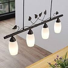 lindby led pendelleuchte isalie in schwarz aus metall ua für wohnzimmer esszimmer 4 flammig e14 a inkl leuchtmittel hängeleuchte
