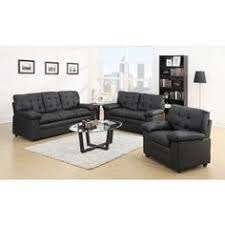 furniture black sofa contemporary black leather sectional sofa