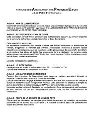 election bureau association loi 1901 association loi 1901 bureau source d inspiration statuts association