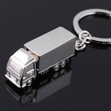 The Car Key Chain The Truck Key Chain Metal Key Chain Solid ...
