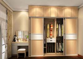 Furniture Home Lovely Modern Bedroom With Wardrobe And