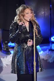 Nbc Christmas Tree Lighting 2014 Mariah Carey by Carey Performs At Rockefeller Christmas Tree Lighting Ceremony