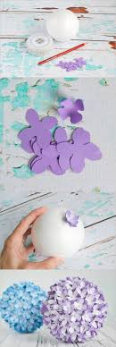 Creative Ideas DIY Paper Flower Kissing Ball For Wedding