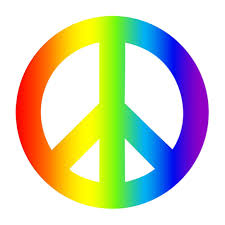 100 Truck Sign Amazoncom 4 Pack Rainbow Peace Car Decal Bumper Sticker Gay