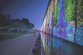 lichtsicht 6 projektions biennale bad rothenfelde os