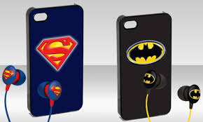 Batman or Superman iPhone 5 Case