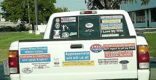 Clayton Cramer's Blog Archive (pre-Ambulance Chasers): Bumper ... 2010 Scr8pfest Custom Truck Show Photo Image Gallery What Does This Bumper Sticker Mean August 2017 Babies Forums These Masterfully Crafted Homemade Stickers I Saw On The Road If You Drive A Toyota Tundra Here Is To Be Proud Town Moto Resist Removable Vinyl Bumper Sticker Linmanuel Miranda Legit Yes That Qr Code Qreate Track Classic Chevrolet Pickup Truck With Dont Mess Texas Amazoncom Get Off My Ass Before Inflate Your Airbags 8 X 2 7 Alburque City Spotted Nasty Political
