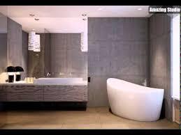 beton badezimmer wand freistehende badewanne