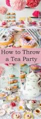 Kitchen Tea Themes Ideas by Best 25 Tea Parties Ideas On Pinterest High Tea Decorations